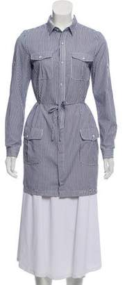 Rag & Bone Long Sleeve Button-Up Shirtdress