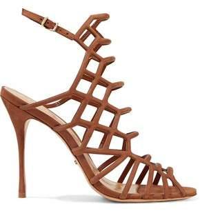 Schutz Juliana Cutout Nubuck Sandals