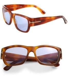 Tom Ford Stephen 54MM Soft Square Sunglasses