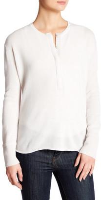 Inhabit Long Sleeve Cashmere Blend Cardigan $363 thestylecure.com
