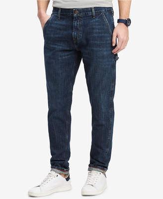 Tommy Hilfiger Men's Relaxed-Fit Denim Jeans, Created for Macy's
