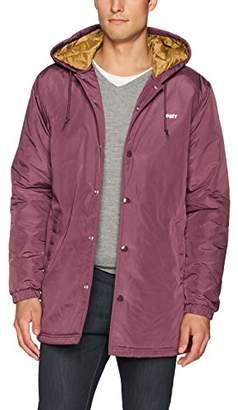 Obey Men's Singford Stadium Ii Hooded Jacket