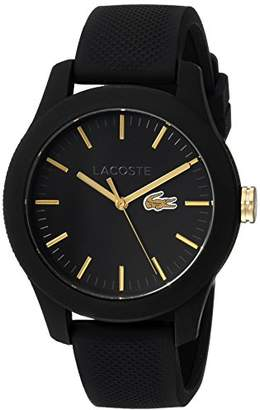 Lacoste Women's 'Ladies 12.12' Quartz Stainless Steel and Silicone Casual Watch