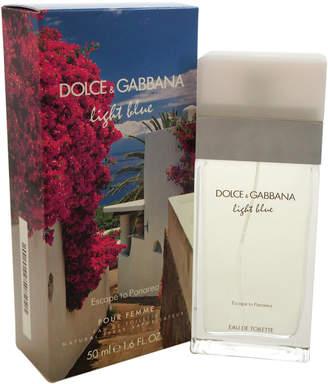 Dolce & Gabbana Light Blue Escape To Panarea 1.6Oz Women's Eau De Toilette Spray