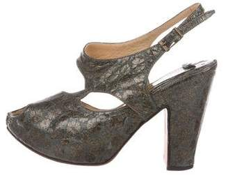 Mayle Glitter Floral Sandals