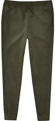 River Island Khaki slim fit joggers