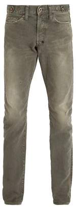 Prps Japan - Demon Straight Leg Jeans - Mens - Grey