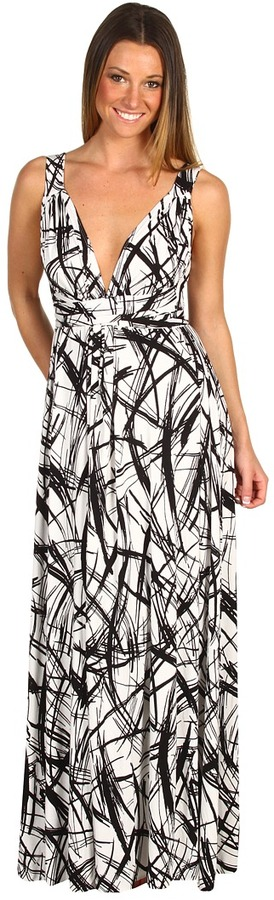 Rachel Pally - Print Athena Dress (Cross Hatch) - Apparel