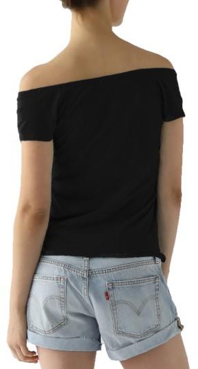 Women's Lamade Imelda Tissue Jersey Off The Shoulder Tee 2