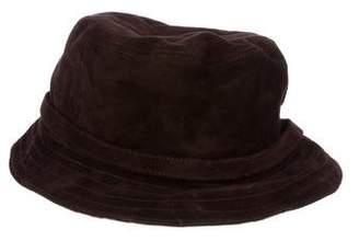 Burberry Suede Bucket Hat