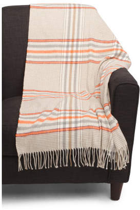 Made In Italy Checkered Throw