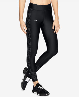 Under Armour HeatGear Printed Compression Workout Leggings