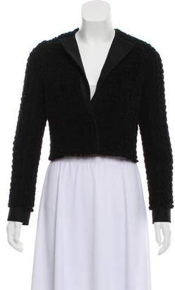 Giambattista Valli Wool Cropped Jacket