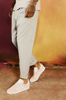 boohoo Dele Smart Casual Trouser With Turn Up
