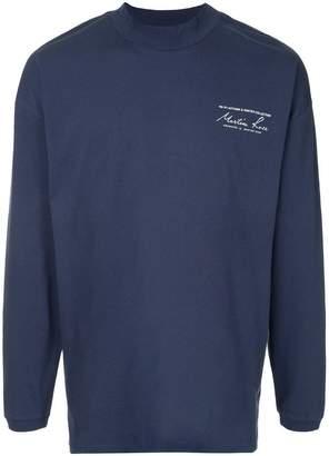 Martine Rose logo print sweatshirt