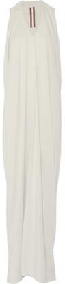 Rick Owens - Cotton-jersey Maxi Dress - Stone $390 thestylecure.com