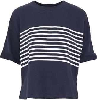 Joie (ジョア) - Joie オーバーサイズ ストライプ コットンパイル地 シャツ