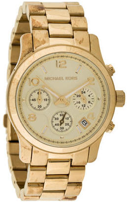 Michael Kors Runway Chronograph Watch $125 thestylecure.com