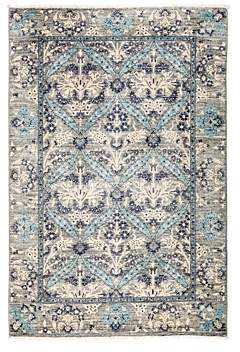 Suzani Area Rug, 4'3 x 6'3