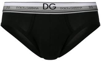 Dolce & Gabbana logo waistband briefs