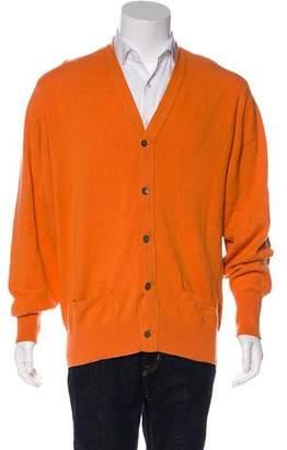Hermes Knit V-Neck Cardigan