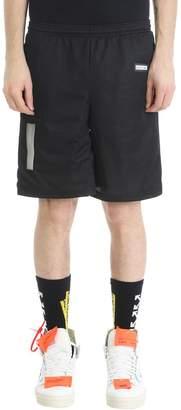 Off-White Black Mesh Shorts