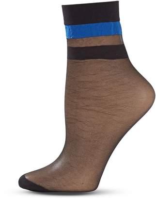 Dim Sporty Stripe Ankle Socks