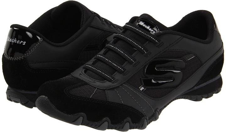 Skechers Bikers-Vexed (Black) - Footwear