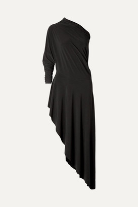 Norma Kamali Convertible Stretch-jersey Maxi Dress - Black