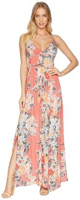 Free People Through The Vine Printed Maxi Women's Dress