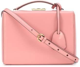 Mark Cross Grace Small Box leather shoulder bag