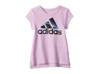 adidas Kids Short Sleeve Train To Win Tee (Toddler/Little Kids)