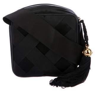 Chanel Satin Bow Evening Bag