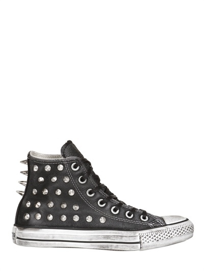 Converse - Limited Edition Spiked Leather Sneakers