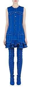 Givenchy WOMEN'S RUFFLED-HEM COTTON SLEEVELESS DRESS
