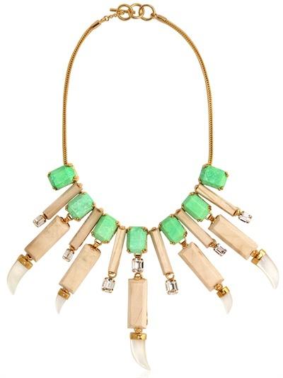 Everglades Wood Collar Necklace