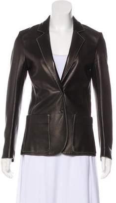 Joseph Structured Leather Jacket