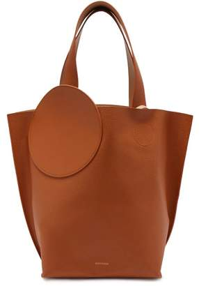 Roksanda Eider Pebbled Leather Tote - Womens - Tan