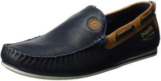 Bugatti denim Herren-Slipper blau , Gr. 43