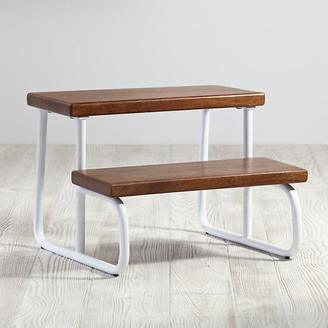 White On The Double Step Stool $69 thestylecure.com