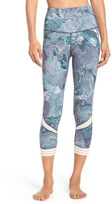 Women's Zella Amour High Waist Crop Leggings $65 thestylecure.com