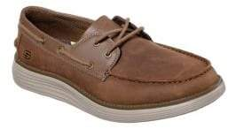 2a106687d9c Skechers Brown Leather Shoes For Men - ShopStyle Canada