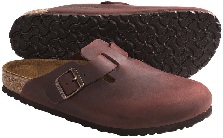 Birkenstock Boston Clogs - Leather (For Men and Women)