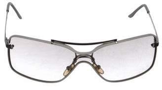 Christian Dior Clear Square Sunglasses