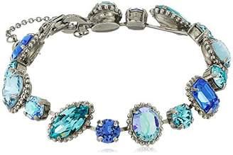 Sorrelli Ultramarine Cushion Cut Crystal Bracelet
