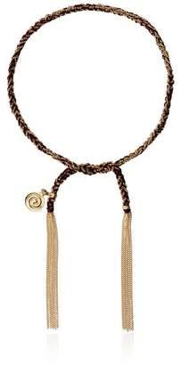 Carolina Bucci 18k gold thread bracelet