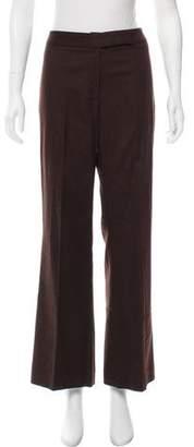 Valentino Mid-Rise Wool Pants