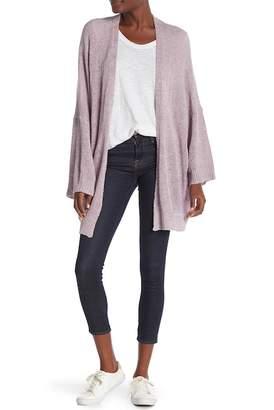 Madisonne Oversize Dolman Sleeve Knit Cardigan