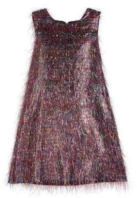 Roxy Zoe Rainbow Sparkle Dress, Size 2-6X