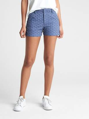 "Gap 3"" City Shorts in Eyelet"